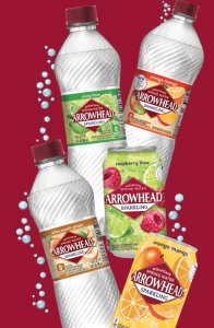 picture of Free 8 Pack of Arrowhead Brand Sparkling Mountain Spring Water