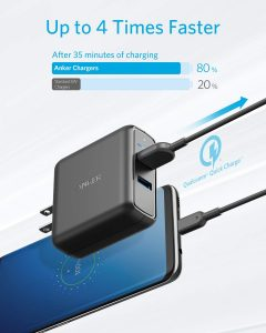 picture of Anker Quick Charge 3.0 39W Dual USB Wall Charger Sale