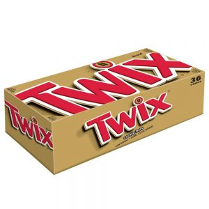 picture of Twix Cookie Bars, Caramel Milk Chocolate (Pack of 36) Sale