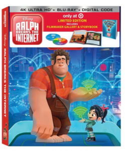 picture of Target Exclusive Disney 4K Ultra HD Blu-Ray Sale