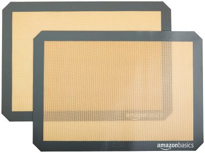 picture of AmazonBasics Silicone Baking Mat - 2-Pack Sale