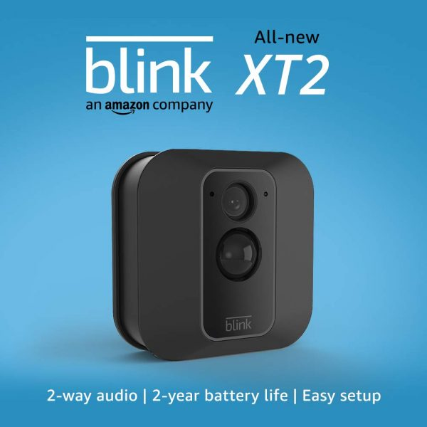 All New Blink XT2 Home Security Camera System with Motion Detect