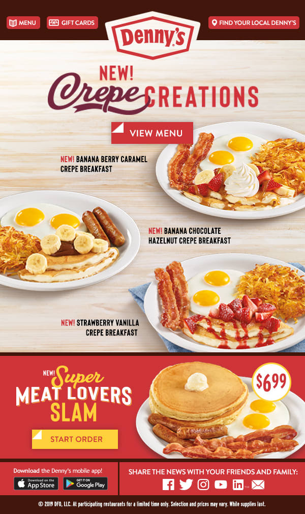 Dennys Coupon