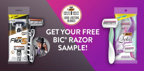 picture of Free Bic Razor Sample