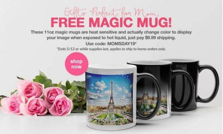 picture of Free Target Custom Photo Magic Mug