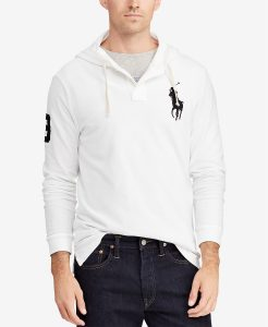 picture of Polo Men's Mesh Hoodie Sale
