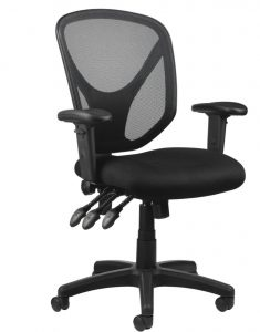 picture of Realspace MFTC 200 Mesh Multifunction Ergonomic Mid-Back Task Chair Sale
