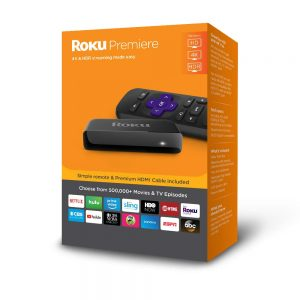 picture of Roku Premiere 4K Ultra HD Streaming Media Player Sale