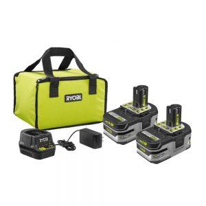 picture of Ryobi 18V ONE+ Lithium 2 Battery Starter Kit + Power Tool Sale