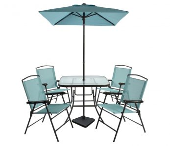 picture of Threshold 7pc Metal Folding Patio Dining Set Sale