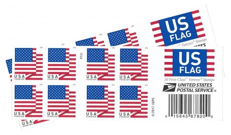 picture of 10% off USPS US Flag 2018 Forever Stamps (Book of 40)