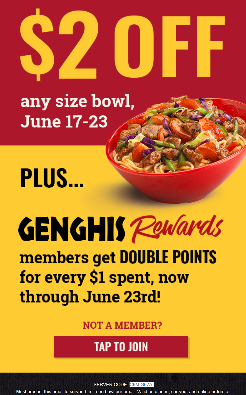 photo about Genghis Grill Printable Coupon named Genghis Grill Discount coupons and Financial savings