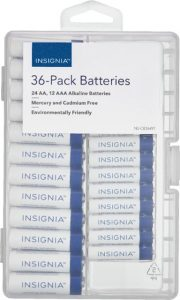 picture of Insignia 24 AA or 12 AAA Battery Sale