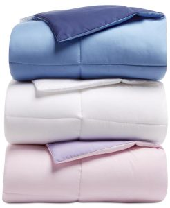 picture of Martha Stewart Collection Essentials Reversible Solid Down Alternative Comforter Sale