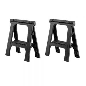 picture of Husky 28in Folding Sawhorse 2 Pack Sale