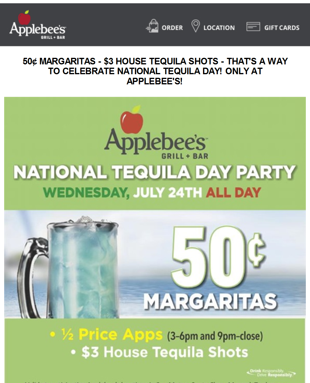 Applebees Coupon