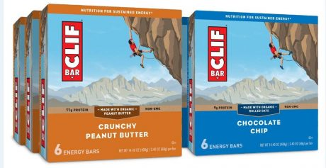 picture of Clif Bar Value Pack Chocolate Chip and Crunchy Peanut Butter 36 Count Sale
