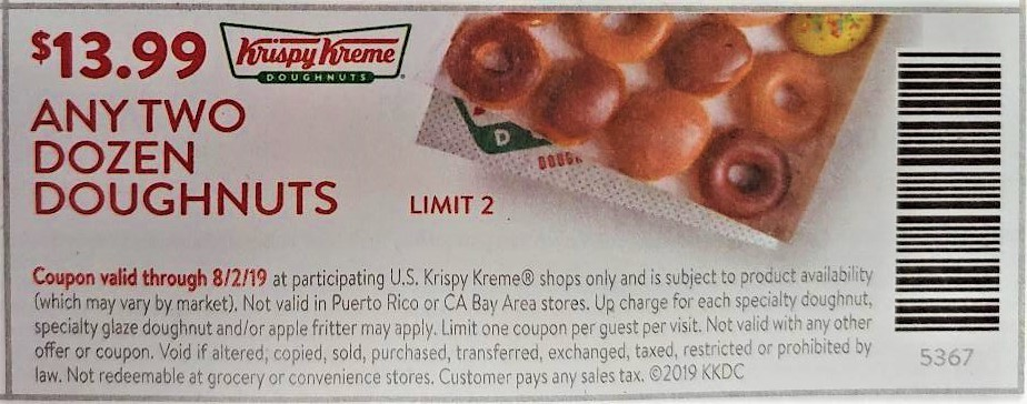 graphic regarding Krispy Kreme Printable Coupons called Krispy Kreme Discount codes and Cost savings