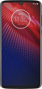 picture of Motorola - moto z⁴ - Flash Gray (Verizon) Sale