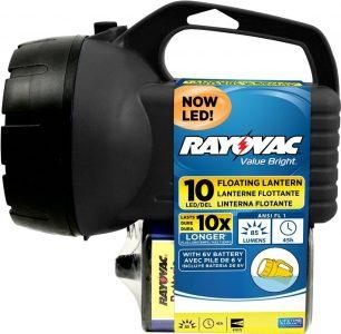 picture of RAYOVAC Value Bright 85-Lumen 6V 10-LED Floating Lantern Sale