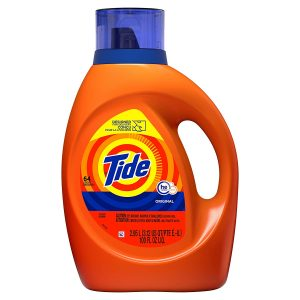 picture of Expiring Today: Tide Laundry Detergent Liquid, Original Scent, HE Turbo Clean, 92 oz, 64 Loads Sale