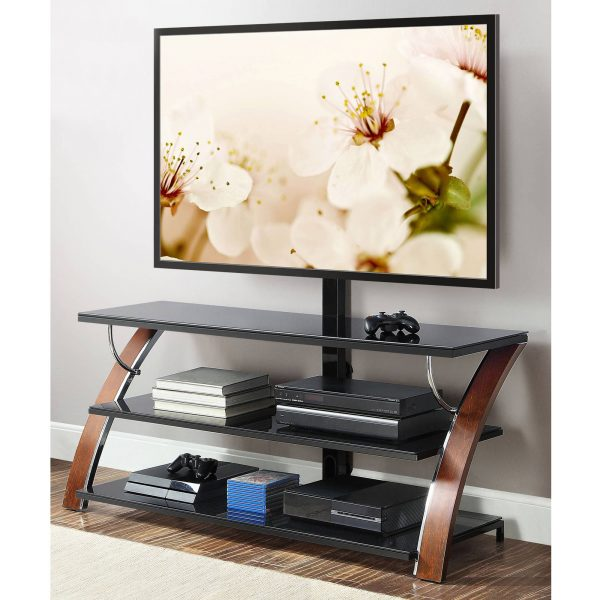 Whalen Payton 3 In 1 Flat Panel Tv Stand For Tvs Up To 65