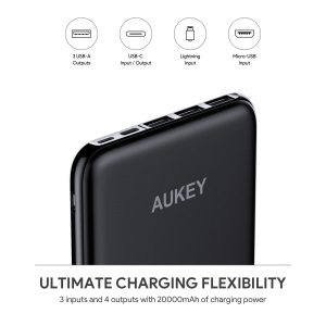 picture of Aukey 20000mAh USB C Portable Battery Sale
