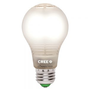 picture of Cree A19 60W Equivalent Connected LED Light Bulb - Works with Alexa