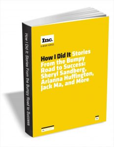 picture of Free eBook How I Did It - Stories from the Bumpy Road to Success: Sheryl Sandberg, Arianna Huffington, Jack Ma, and More