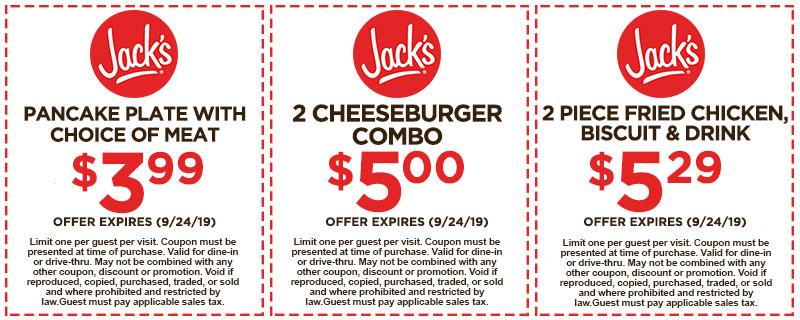 Jack's Coupon
