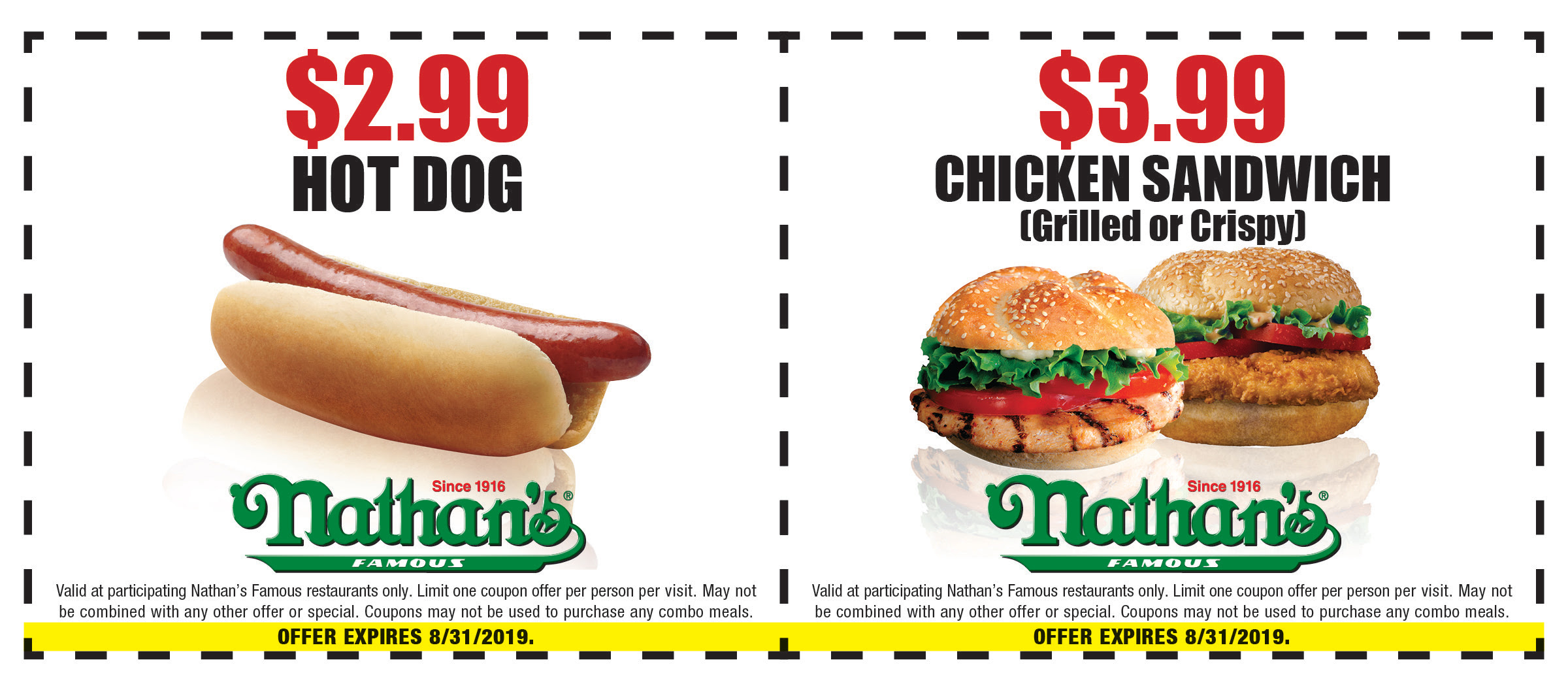 photograph about Nathans Printable Coupons referred to as Nathans Renowned Eating places Discount coupons and Savings