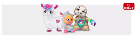 picture of Free $25 Target Gift Card with $100 in Toys and Games
