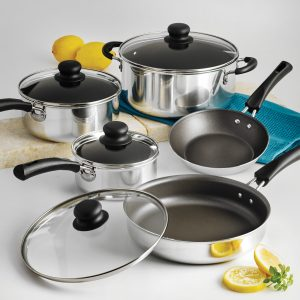 picture of Tramontina Simple Cooking Non-Stick Cookware Set, 9 Piece Sale