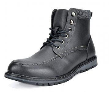 picture of 70% off Bruno Marc Men's Combat Ankle Boots