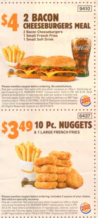 graphic relating to Burger King Printable Application known as Burger King Discount coupons and Cost savings