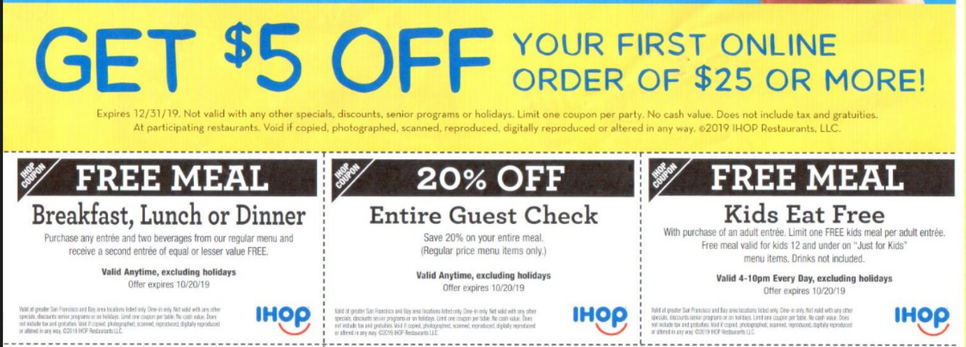 photograph regarding Ihop Printable Coupons identify IHOP Discount coupons and Savings