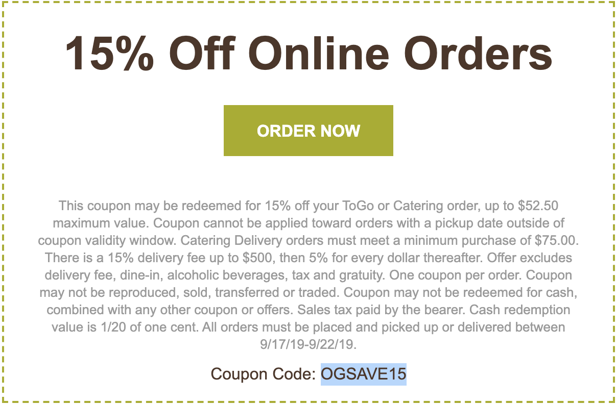 olive garden catering coupon december 2019