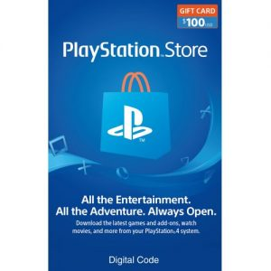 picture of 15% off $100 PlayStation Store Gift Card