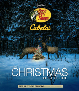 picture of Bass Pro Shops Christmas Gift Guide