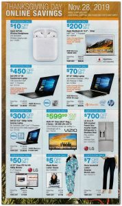 picture of Costco Black Friday 2019 Ad Scans