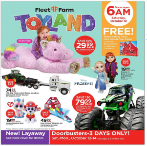 picture of Mill's Fleet Farm Toy Holiday Gift Guide and Toyland Preview