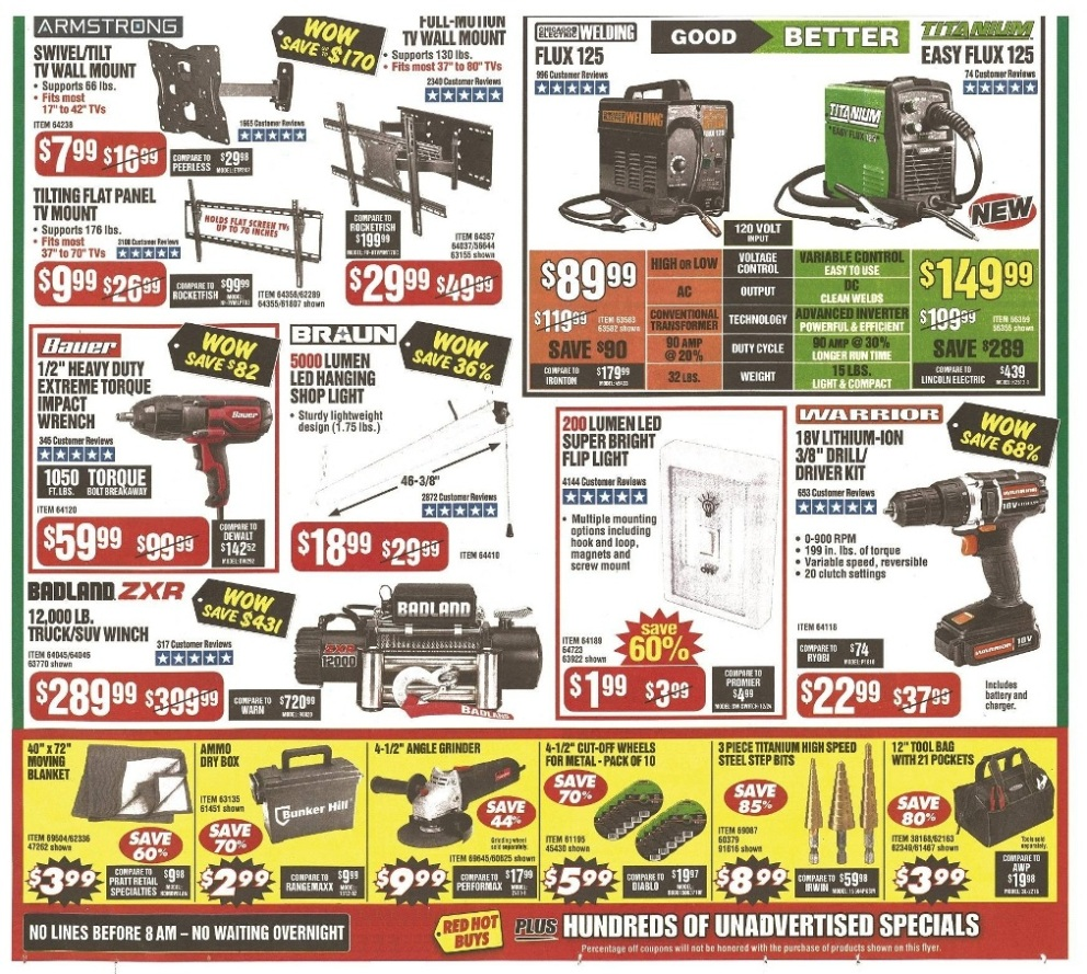 Harbor Freight Black Friday 2019 Ad