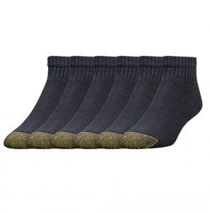 picture of Gold Toe Men's Cotton Quarter Athletic Socks 6-pk Sale