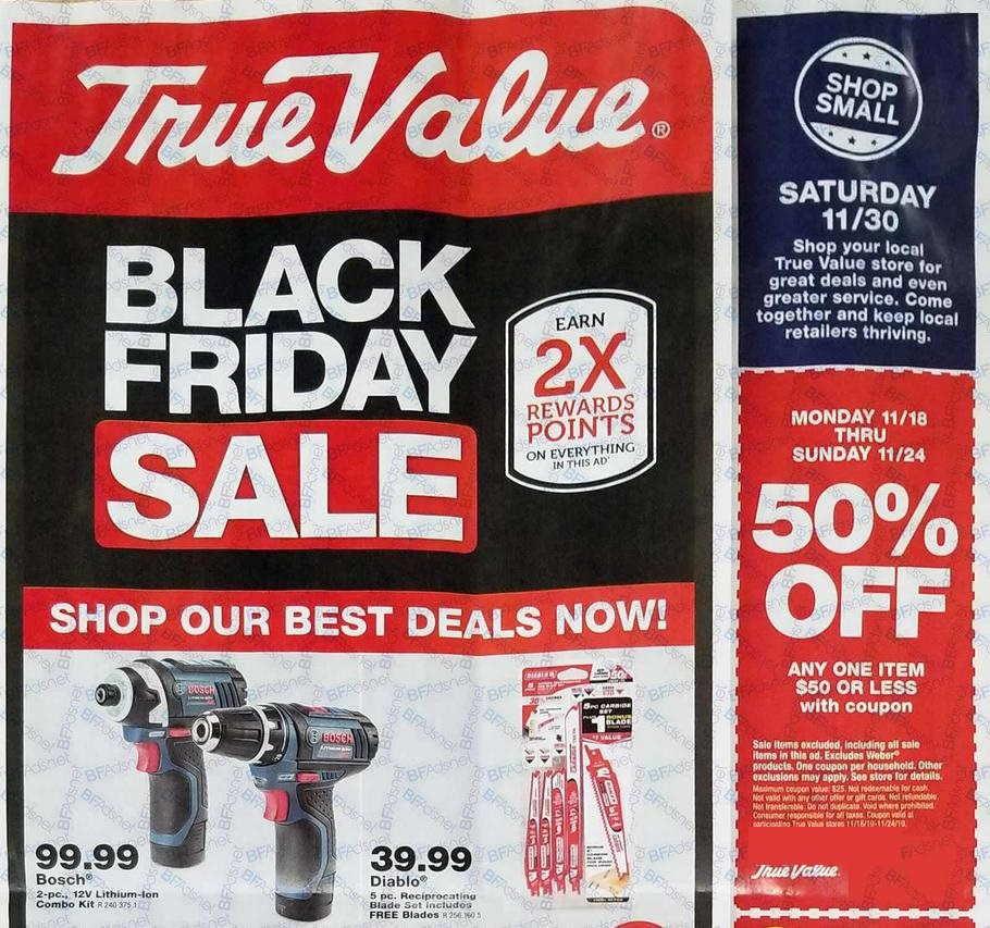 True Value Black Friday 2019 Ad