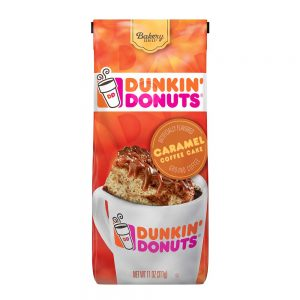 picture of Dunkin' Donuts Ground Coffee, Caramel Coffee Cake, 11 Ounces Sale