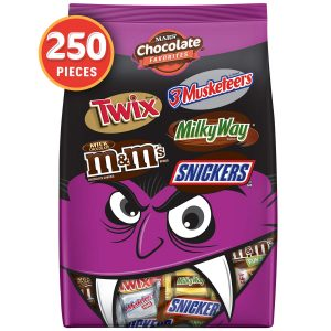 picture of Halloween Candy Bars Variety Mix 250-Count Sale