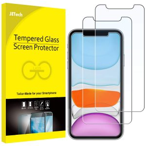 picture of JETech Screen Protector iPhone 11, XR, 6.1-Inch, Tempered Glass Film, 2-Pack Sale