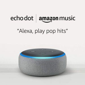 picture of Amazon Echo Dot 3rd Gen Smart Speaker and 2 Month Music Unlimited Sale
