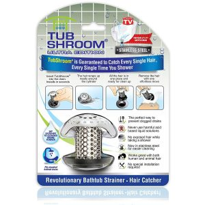picture of TubShroom Ultra Revolutionary Bath Tub Drain Protector Hair Catcher Sale