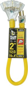 picture of Yellow Jacket 3 Outlet Extension Cord Sale